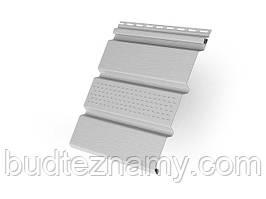 """Потолочный сайдинг (Софит)  - белый  3000х305 мм; 0,915 м.кв/шт, """"RAINWAY"""" Украина."""