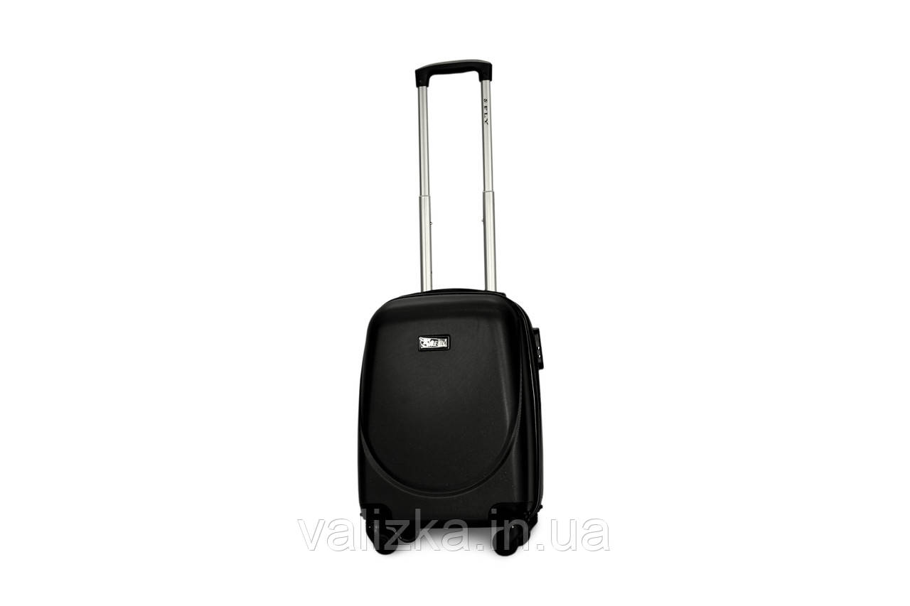 Малый пластиковый чемодан Fly 310 S для ручной клади темный графит