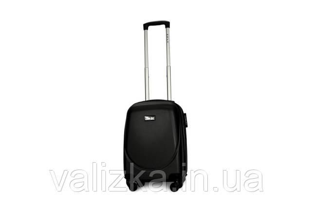 Малый пластиковый чемодан Fly 310 S для ручной клади темный графит, фото 2