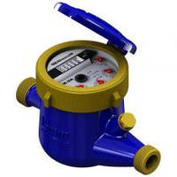 Счётчики для воды(мокроход)Gross MNK-UA -15 (латунь) без сгонов для холодной воды