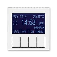 Терморегулятор для теплої підлоги білий/білий, Levit Elektro-Praga ABB, фото 1