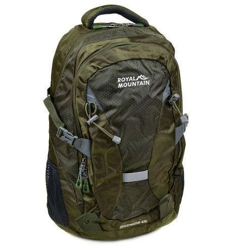Оригинальный туристический рюкзак 45 л. Royal Mountain 8462 green зеленый