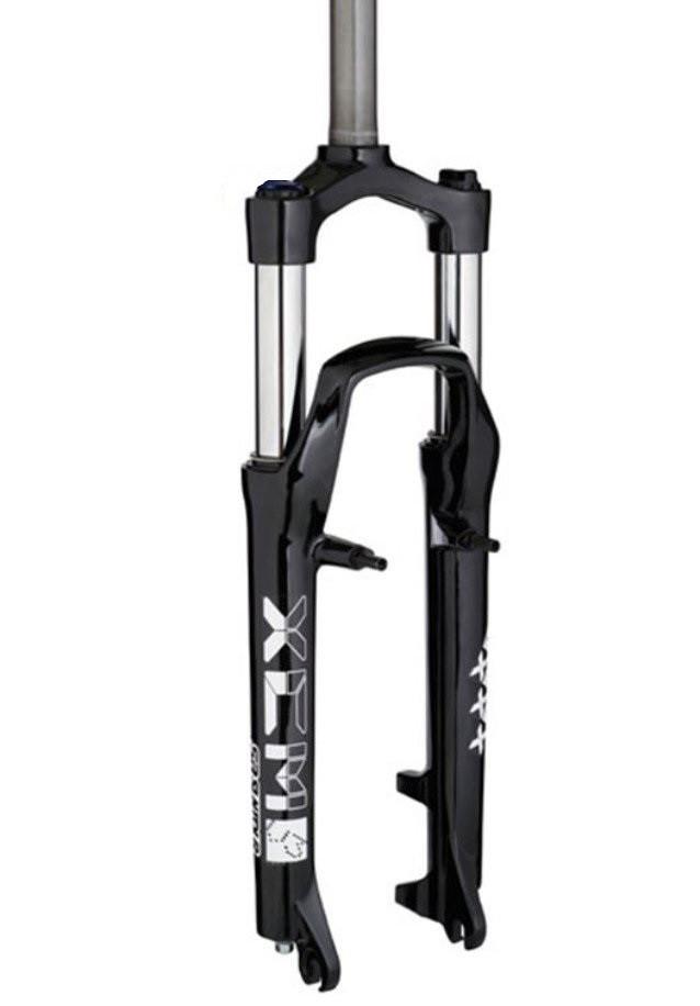 "Велосипедна вилка SR Suntour SF11-XCM 26"" Disk, 100 мм черная"