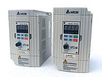 Частотный преобразователь 0,75кВт Delta VFD007M21A (преобразователь частот, частотный регулятор скорости)