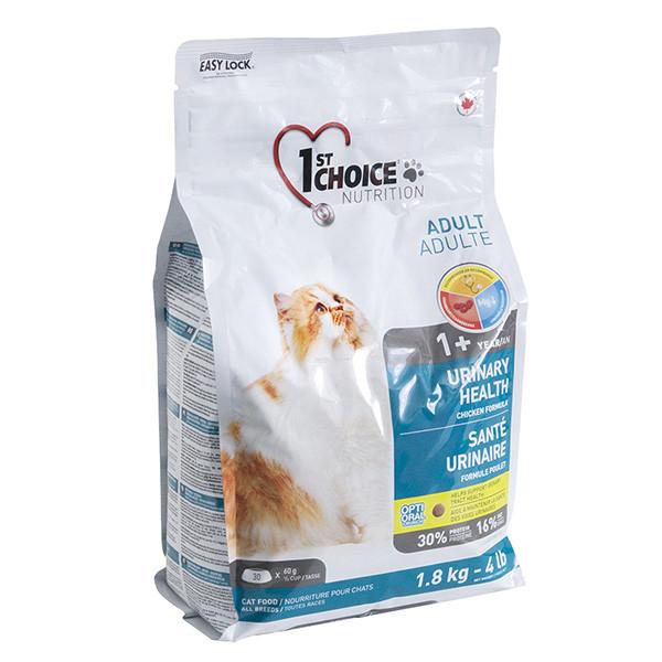 1st Choice Urinary Health ФЕСТ ЧОЙС УРИНАРИ ХЕЛС корм для котов склонных к МБК (мочекаменная болезнь)  1.8 кг.