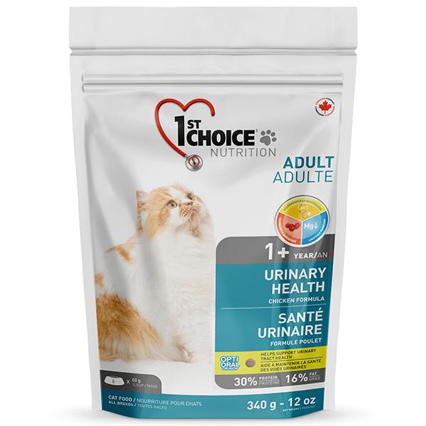 1st Choice Urinary Health ФЕСТ ЧОЙС УРИНАРИ ХЕЛС корм для котов склонных к МБК (мочекаменная болезнь)  0.34