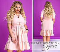 Женское платье Батал Простор, фото 1