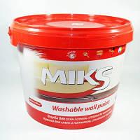 Краска  стойкая к мытью Интерьерная 1,4 кг, Микс