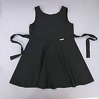 Сарафан черный школьный на девочку р.122, 128, 134, 140