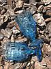 Бокал из цветного голубого стекла Катрин 300 мл , фото 2