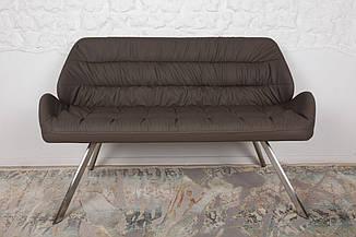 Кресло - банкетка TENERIFE (Тенерифе) мокко от Niсolas, экокожа