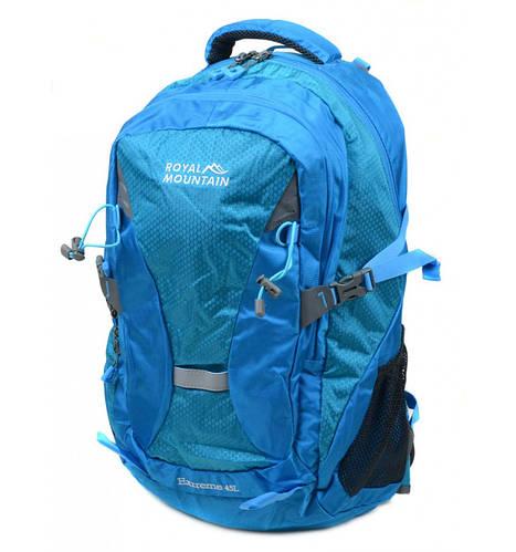 Оригинальный туристический рюкзак 45 л. Royal Mountain 8462 blue голубой