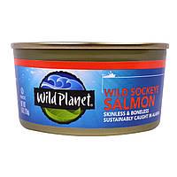 Wild Planet, Филе дикой нерки, без кожи и костей, 6 унций (170 г)