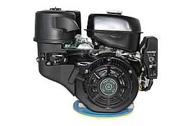 Двигатель бензиновый GrunWelt GW460FE-S (18 л.с., шпонка)