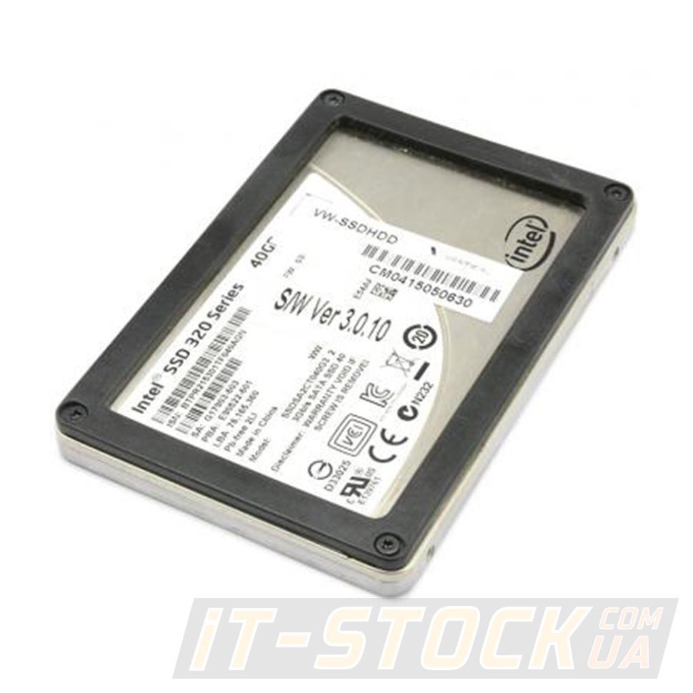 """Накопитель SSD 2.5"""" 40GB Intel 320 Series SSDSA2CT040G3 (SATAII) БУ"""