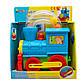 Игровой набор DEVIK Baby Паровоз с шариками, 24*27 см, голубой, пластик., фото 2