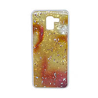 Чехол бампер Samsung J600 Baseus Light Stone Gold