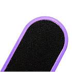 Терка Педикюрная Пластиковая для Ног Двухсторонняя Овальная, Цвета Микс Произвольный, 26 см, Педикюр, фото 8
