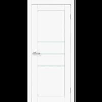 "Межкомнатная дверь ПВХ ""Cortex Deco 06"" (Cortex белый мат)"