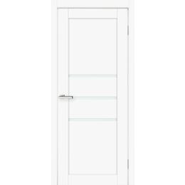 """Межкомнатная дверь ПВХ """"Cortex Deco 06"""" (Cortex белый мат), фото 2"""