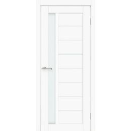 "Межкомнатная дверь ПВХ ""Cortex Deco 09"" (Cortex белый мат)"