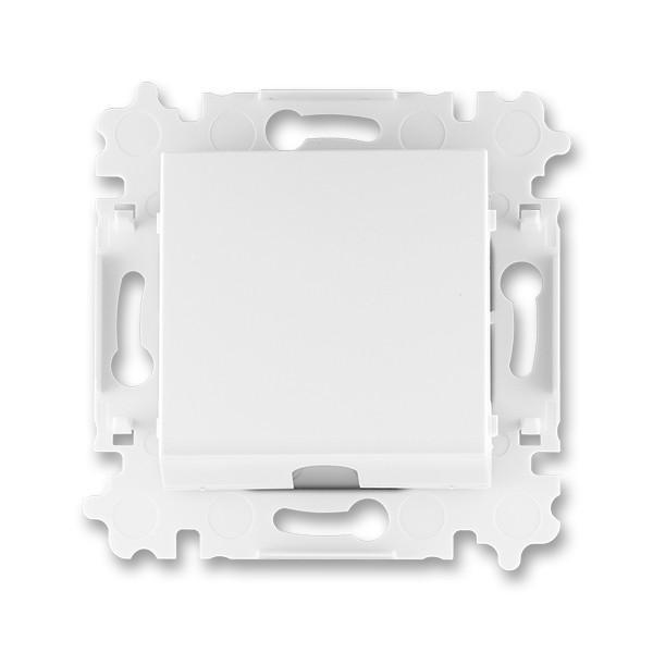 Заглушка белый/белый, Levit Elektro-Praga ABB