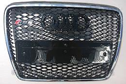 Решетка радиатора Audi A6 стиль RS6