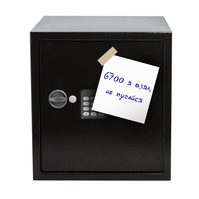 Кража из сейфа с признательной запиской