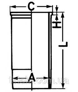 Гильза без уплотнений MAN TGA (D28..) Euro 2/3