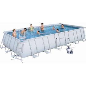 Каркасный бассейн Bestway 56475 732х366х132 с песочным фильтром
