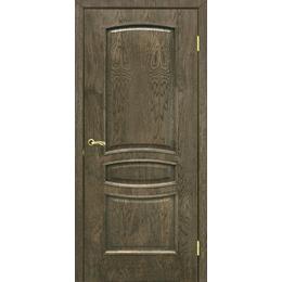"""Межкомнатная дверь ШПОН """"Венеция ПГ"""" (2 ЦВЕТА), фото 2"""