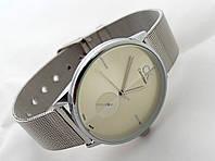 Часы унисекс - CK в серебристом цвете, фото 1