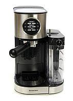 L10-300394, Машина эспрессо с молочным пенообразователем SEMM 1470 A1, , черный