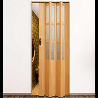 """Дверь гармошка """"Vinci Decor Symfonia"""" Бук"""