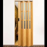 """Дверь гармошка """"Vinci Decor Symfonia"""" Светлый Дуб"""