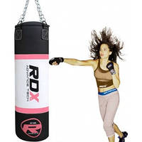 Боксерская груша, мешок RDX, розовый, 1.2М, 30-35КГ