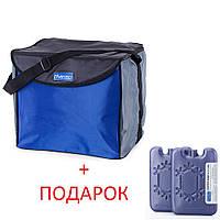 Изотермическая сумка Thermo Icebag 35 IB-35 (Синий, черный)