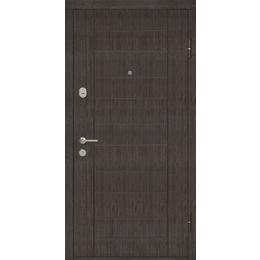 """Входная дверь """"Домино ТМ Riccardi"""" 2050x860мм (СТАНДАРТ) Венге"""