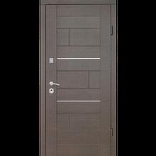 """Входная дверь """"Куб ТМ Riccardi"""" 2050x960мм (ПРЕМИУМ) Венге"""