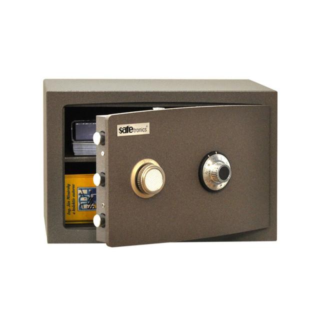 сейф с механическим кодовым замком safetronics ntr 24lg