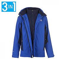 Зимняя куртка Karrimor 3 in 1 Weathertite Surf Blue/Navy,  (10213791)