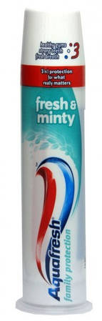 Зубная паста AQUAFRESH Fresh and Minty