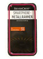 L15-550305, Бампер для смартфона Samsung Galaxy S5, , малиновый