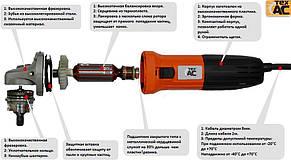 Угловая шлифмашинка (болгарка) ТА 01 - 422 Тех-АС, фото 2