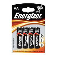 Батарейки пальчиковые LR06 Energizer 4шт (96) Артикул: 01673