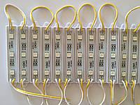 Светодиодный Модуль SMD 5050 ЖЕЛТЫЙ