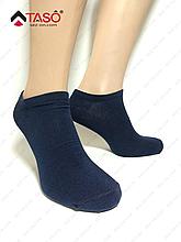 Носки короткие мужские Taso из хлопковой ткани Темно-синий, 27