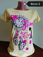 Женская футболка хлопковая, Турция 100% coton
