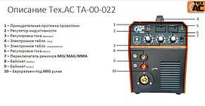 Полуавтоматический сварочный аппарат ТехАС ММА 220 (ТА-00-022), фото 2