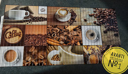 """Панели ПВХ """"Кофе коричневый"""", фото 2"""